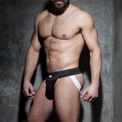 Addicted Fetish Rib Jock white