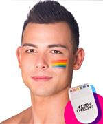 Andrew Christian Pride Rainbow Face Paint