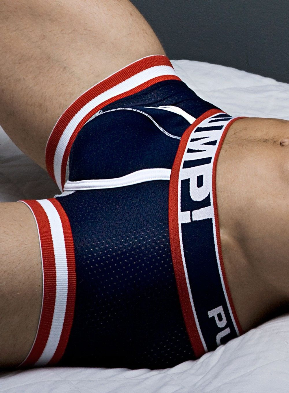 Pump Big League Boxer Navy Red White Bibo Fashion